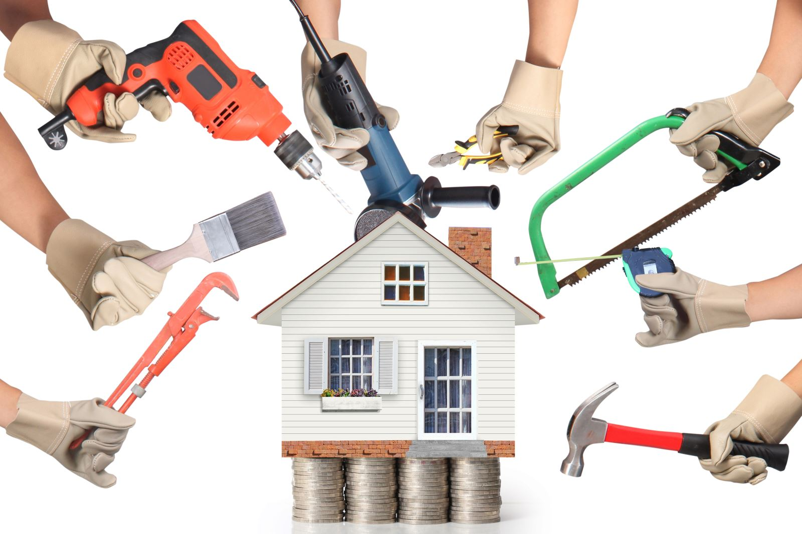 Ways To Keep Home Improvement Projects From Ruining Your Budget